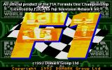 Formula One Atari ST Title screen