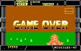 After Burner II DOS Game over! (EGA)