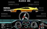 Race Drivin' DOS Car Select (EGA)