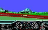 Race Drivin' DOS Gameplay (EGA)