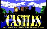 Castles DOS Title screen (EGA)