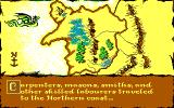 Castles DOS The map (EGA)
