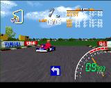 Ayrton Senna Kart Duel PlayStation Senna is just behind, watch out!