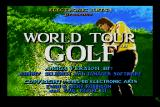 World Tour Golf Amiga Title screen