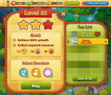 Farm Heroes Saga Browser On this level, in addition to cropsies, I need to collect 5 chicks. Photos blurred for privacy.