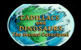 Cadillacs and Dinosaurs: The Second Cataclysm DOS Intro Game Title