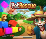Pet Rescue Saga Browser Loading screen