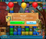 Pet Rescue Saga Browser I lost a pet. There aren't enough left to save to clear the level.