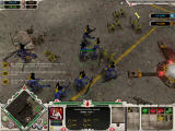 Warhammer 40,000: Dawn of War Windows Banshees slash orcs
