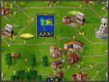 The Settlers II: Gold Edition DOS Enemy has a lot of builds, and well-working economy.