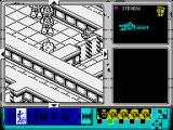 Space Crusade ZX Spectrum First enemy is dead