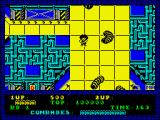 Alien Syndrome ZX Spectrum Some bugs