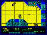 Alien Syndrome ZX Spectrum Life lost