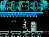 Trantor the Last Stormtrooper ZX Spectrum Running thought the level