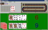 Cribbage Champion Windows Moby Gamer has won, no need to count the points in the crib. Furthermore they have won before their computer opponent and have thus skunked them.