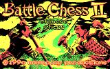 Battle Chess II: Chinese Chess DOS Title Screen (CGA)