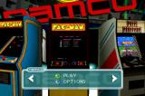 Namco Museum: 50th Anniversary Xbox Pac-Man cabinet view