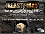 Blast First: Sci-Fi Edition Browser Title screen.