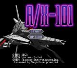 A/X-101 SEGA CD Title screen