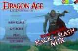Dragon Age Legends: Remix 01 Browser Title Screen / Main Menu