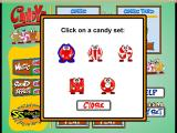 Candyz Windows This is the tile selection screen