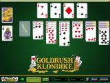 Goldrush Klondike Windows A game in progress. The type of game is displayed in the lower left, in this case it's Acedike