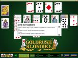 Goldrush Klondike Windows The '?' in the menu bar at the bottom of the screen brings up the game's help text in a small, fixed-size, window