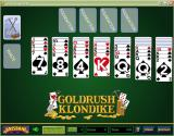Goldrush Klondike Windows A game of Brisbane Klondike showing an alternate card back and the low vision card faces
