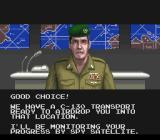 Operation Thunderbolt SNES Commanding officer