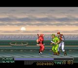 The Ninja Warriors SNES Rest of a while