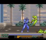 The Ninja Warriors SNES Brutal force. Nice.