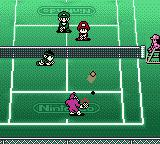 Mario Tennis Game Boy Color Mario brothers waits.