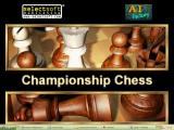 Championship Chess Windows This splash screen displays when the game loads