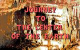 Journey to the Center of the Earth DOS Title Screen (EGA)