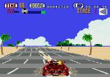 OutRun Genesis Change road