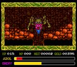 Ys IV: The Dawn of Ys TurboGrafx CD The first boss of the game: a nasty-looking giant crab in a cave. You'll have to be careful where to hit him