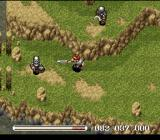 Ys V: Ushinawareta Suna no Miyako Kefin SNES Undead warriors attack on the plains