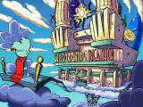 Pajama Sam 2: Thunder and Lightning aren't so Frightening Windows The entrance to World Wide Weather