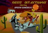 Cheese Cat-Astrophe starring Speedy Gonzales Genesis Title screen