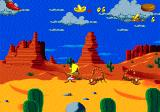 Cheese Cat-Astrophe starring Speedy Gonzales Genesis Scorpions in World 1: The desert
