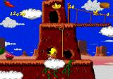 Cheese Cat-Astrophe starring Speedy Gonzales Genesis Throw a lasso to reach high platforms.
