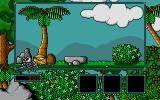 Little Puff in Dragonland Atari ST The coconut crushed the dragon