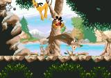 Mickey Mania SEGA CD Jump over moose