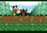 Mickey Mania SEGA CD Being chased by the moose