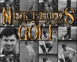 Nick Faldo's Championship Golf Amiga Title Screen