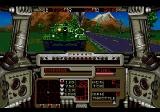 RDF: Global Conflict SEGA CD Recklessly facing an enemy tank