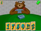 Fatty Bear's FunPack DOS Go Fish game