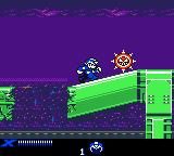 Mega Man XTreme Game Boy Color Spikes
