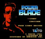 Power Blade NES Title