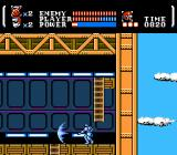 Power Blade NES Wearing a robot suit